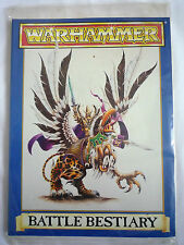 Warhammer/bataille bestiaire réglementation/games workshop