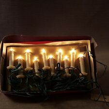 "Silvestri Decorative Christmas 10 Lights 3.5"" Candle Stick Clips Indoor Outdoor"