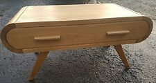Retro Oak Vintage coffee table solid oak vintage style coffee table with drawer