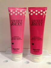 Supre SWEET & SEXY BODY WASH & POLISH After Tan Wash 9 oz Tan Bed Lotion LOTof 2
