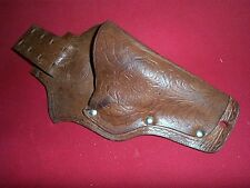 Cowboy Leather Toy Cap Gun Holster Only Nice