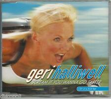 GERI HALLIWELL - Scream if you wanna go faster - CDs SINGOLO 2001 NEW NOT SEALED