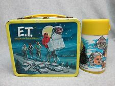 1982 ET The EXTRA-TERRESTRIAL Movie LUNCHBOX & THERMOS Phone Home Elliot C#9.5