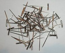 Pack Of 30 Steel Nickel Plated T-Pins Made USA For Lace Knitting Blocking Wires