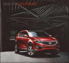 2012 12 KIA  Sportage  original sales  brochure MINT