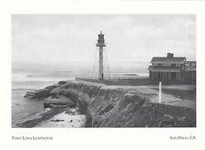 (P0001) Postcards - Lighthouses - Point Loma, San Diego CA (modern card) (A)