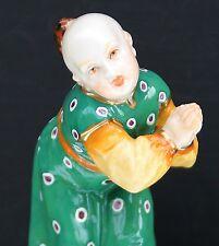 """Nymphenburg Figur """" Bittender Chinese """" , handbemalt   , sammelwürdig , Top !!!"""