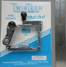 TwisTech Wire Former Make Spinners Spreaders Poulsen Cascade #11037 Forming Tool
