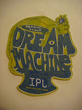 BEER Bar COASTER    MAGIC HAT Brewing Dream Machine IPL = India-Style Pale Lager