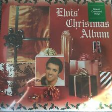 Elvis Presley 'Elvis' Christmas Album'  New pressing on Green Vinyl Lp - SEALED