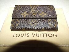 Authentic Louis Vuitton Monogram Coin Purse Case Wallet