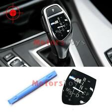 //M Gear Shift Knob Panel for BMW X1 X3 X5 X6 M3 M5 F01 F10 F30 F35 F18 GT 1 3 5
