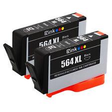 2 BLACK 564XL Cartridge for HP 4610 5510 5520 6510 6520