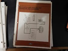 Ford 1981-1982 A/C Clutch and Cooling Fan Operation and Diagnosis Manual