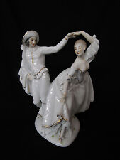 IMPERIAL ROYAL EARLY BEEHIVE MARK LARGE DANCING COUPLE FIGURINE CLASSIC(#4987)