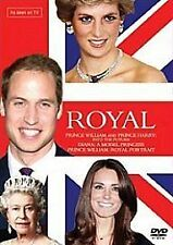 ROYAL FAMILY - 3 DVD SET- Princess Diana, Prince William & Harry- NEW SEALED BOX