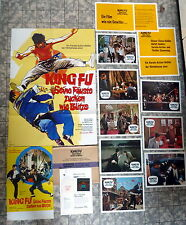 KING FU... * 12 Aushangfotos + A1-FILMPOSTER + A3 + WR + DIA 1974 SHAW BROTHERS