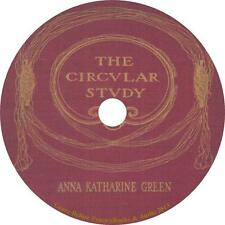 The Circular Study, Anna Katharine Green Murder Mystery Audiobook on 1 MP3 CD