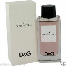 Dolce Gabbana D&G 3 L'imperatrice Women 3.3 3.4 oz EDT Spray With Box Sealed