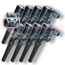 Lincoln Jaguar Ford LS S-Type Thunderbird Ignition Coil 8 Pieces V8 DG515