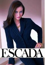 ESCADA ~ classic navy striped blazer ~ EUR: 36 ; S * AUTHENTIC