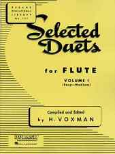 "RUBANK ""SELECTED DUETS"" FOR FLUTE VOLUME 1 MUSIC BOOK BRAND NEW ON SALE!!"