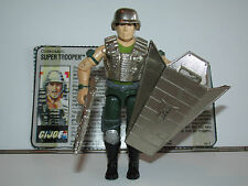 1988 GI JOE SUPER TROOPER v1 100% COMPLETE w/ FILECARD C9+ - HASBRO