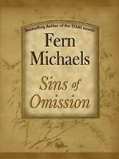 Thorndike Famous Authors: Sins of Omission by Fern Michaels (2007, Hardcover,...