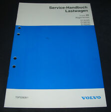 Werkstatthandbuch Volvo LKW Lastwagen Allgemeines D7A285 / D7B230 / D7B260 1994!