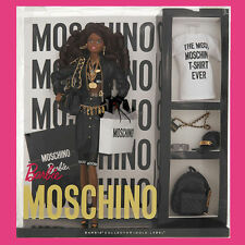 MOSCHINO X Jeremy Scott Barbie AA Brunette African American JS LMT & Sold Out