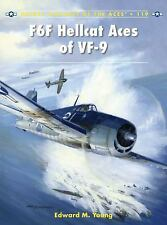 F6F HELLCAT ACES OF VF-9 (Osprey) (US Navy Fighter WWII)