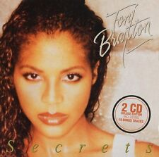 TONI BRAXTON CD - SECRETS [2CD DELUXE EDITION](2016) - NEW UNOPENED - POP R&B
