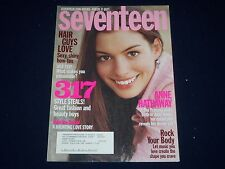 2003 FEBRUARY SEVENTEEN MAGAZINE - ANNE HATHAWAY - FRONT COVER - O 127