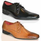 Mens Leather Lined Brogue Italian Smart Formal Lace Up Office Dress Shoes Size