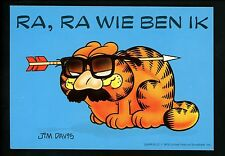 Comics postcard Garfield Cat Jim Davis WW in Costume Disguise