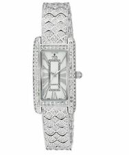 Croton Women's CN207539RHMP Balliamo Rhodium Crystal Accented Quartz Watch
