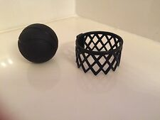 Monster High School Basketball Hoop Ball Black Replacement Piece Part