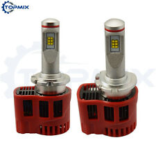 90W 9000LM D2S/D4S ZES LED Car Headlight Kit Auto DRL Fog Lamp Bulb 6000K Canbus