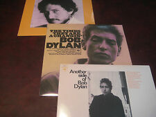 BOB DYLAN STEREO COLUMBIA RECORDS THE TIMES A CHANGIN ANOTHER SIDE & NEW MORNING