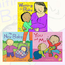 Rachel Fuller Collection New Baby Series 3 Book Set,Waiting for Baby,My New Baby