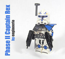 LEGO Custom Clone Trooper Captain Rex v3 Phase 2 75012 mini figure star wars