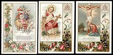 lotto santini-holy cards lot-lot images pieuses-konvolut heiligenbildichen n.076