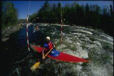 155073 Agua Blanca carrera de slalom A4 Foto Impresión