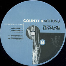 Adam Jay vs. Mike Parker ‎– Counteractions NEW Azure AZR1203 VINYL 12""