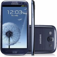 "Unlocked Samsung Galaxy S3 I9300 Android 4.8"" Cell Phone GPS NFC 16GB 8MP Blue"