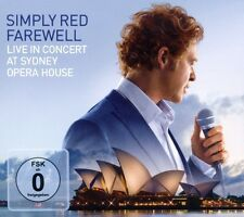"""SIMPLY RED """"FAREWELL - LIVE AT SYDNEY OPERA"""" CD+DVD NEW+"""