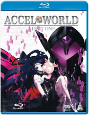 Accel World . Collection Part 1 . Episodes 01-12 . Anime . 2 Blu-ray . NEU