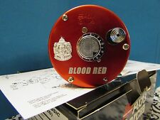 AMBASSADEUR 6500 BLOOD RED ABU GARCIA IMPORT ONLY SPECIAL REEL NEW MINT IN BOX!