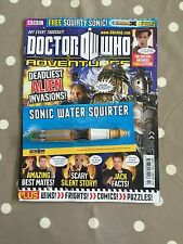 DOCTOR WHO ADVENTURES MAGAZINE Issue 271 With Free Gifts - Free Postage