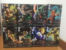 Banpresto Dragon Ball Z tenkaichi 5 Scultures 8 figures Complete Set Goku Nappa